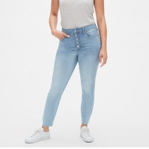 High Rise Curvy True Skinny Ankle Jeans